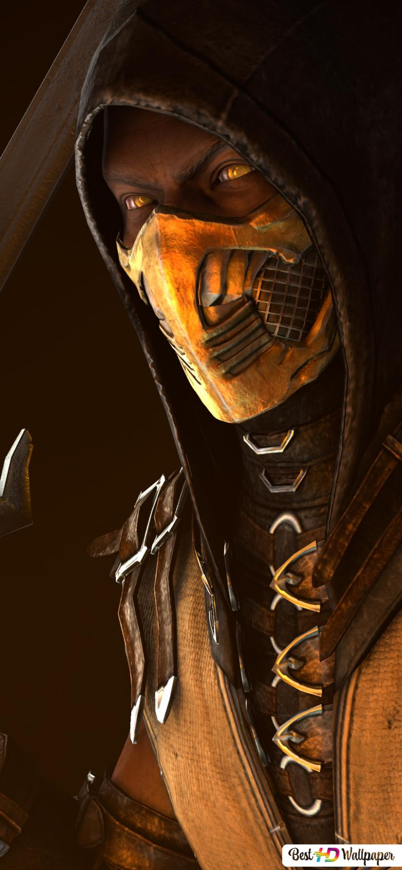 Mortal Kombat X The Ninja From Hell Scorpion Hd Wallpaper Download