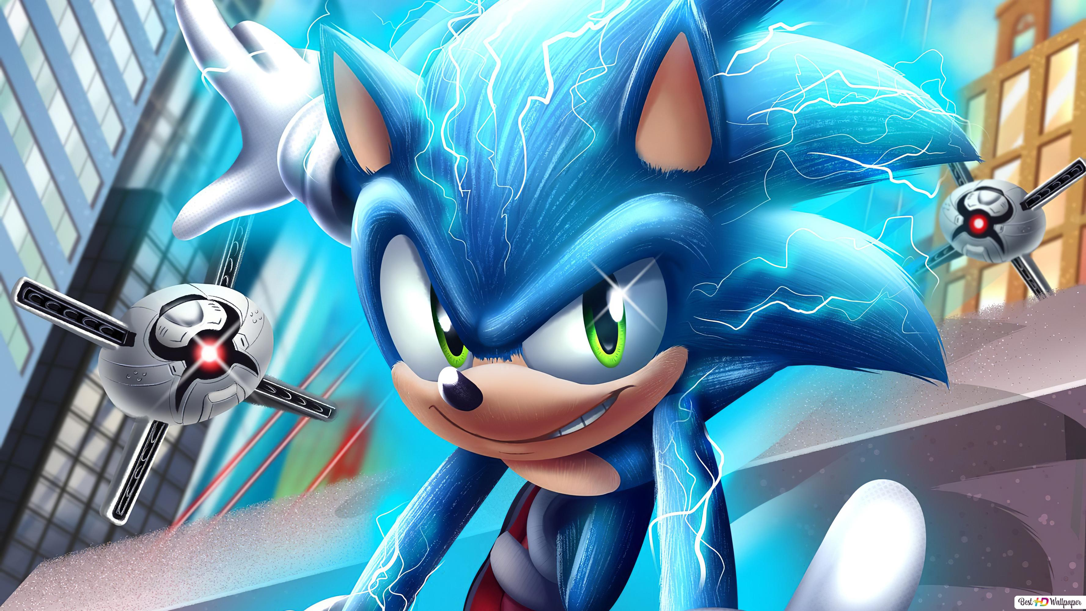 Movie Sonic The Hedgehog Hd Wallpaper Download