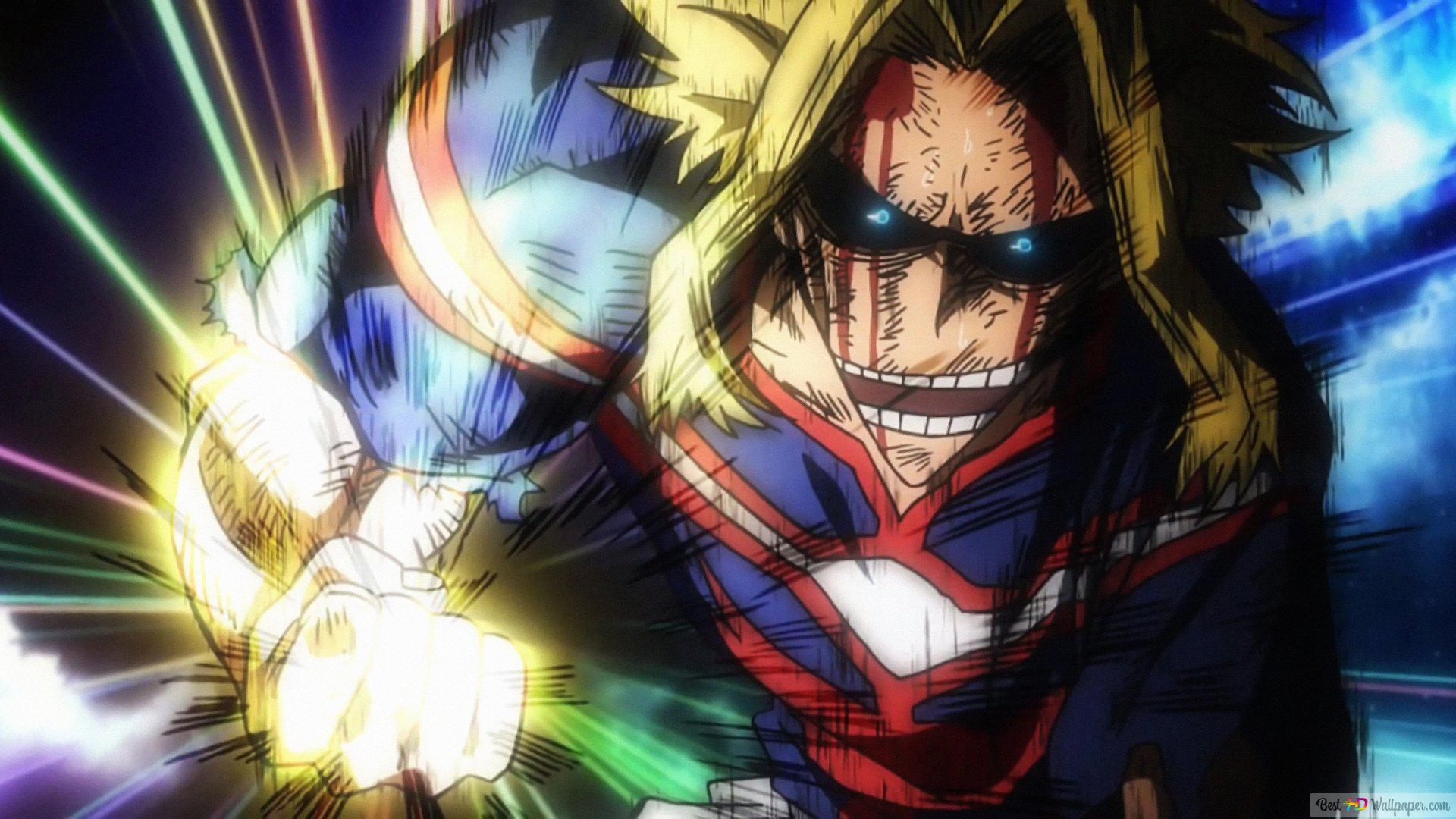 My hero academia - all might HD wallpaper download