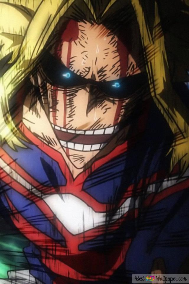 My Hero Academia All Might Hd Wallpaper Download