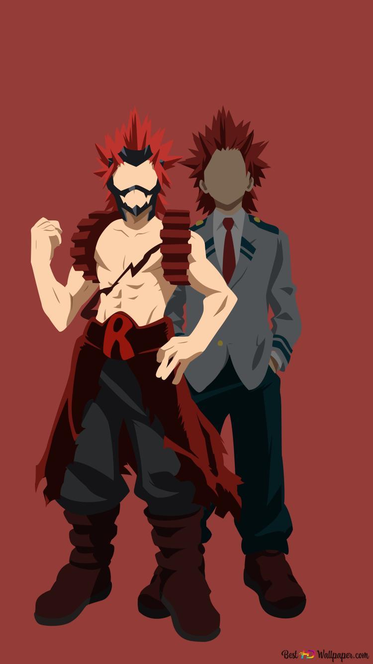 My Hero Academia - Eijiro Kirishima (Minimalist) HD