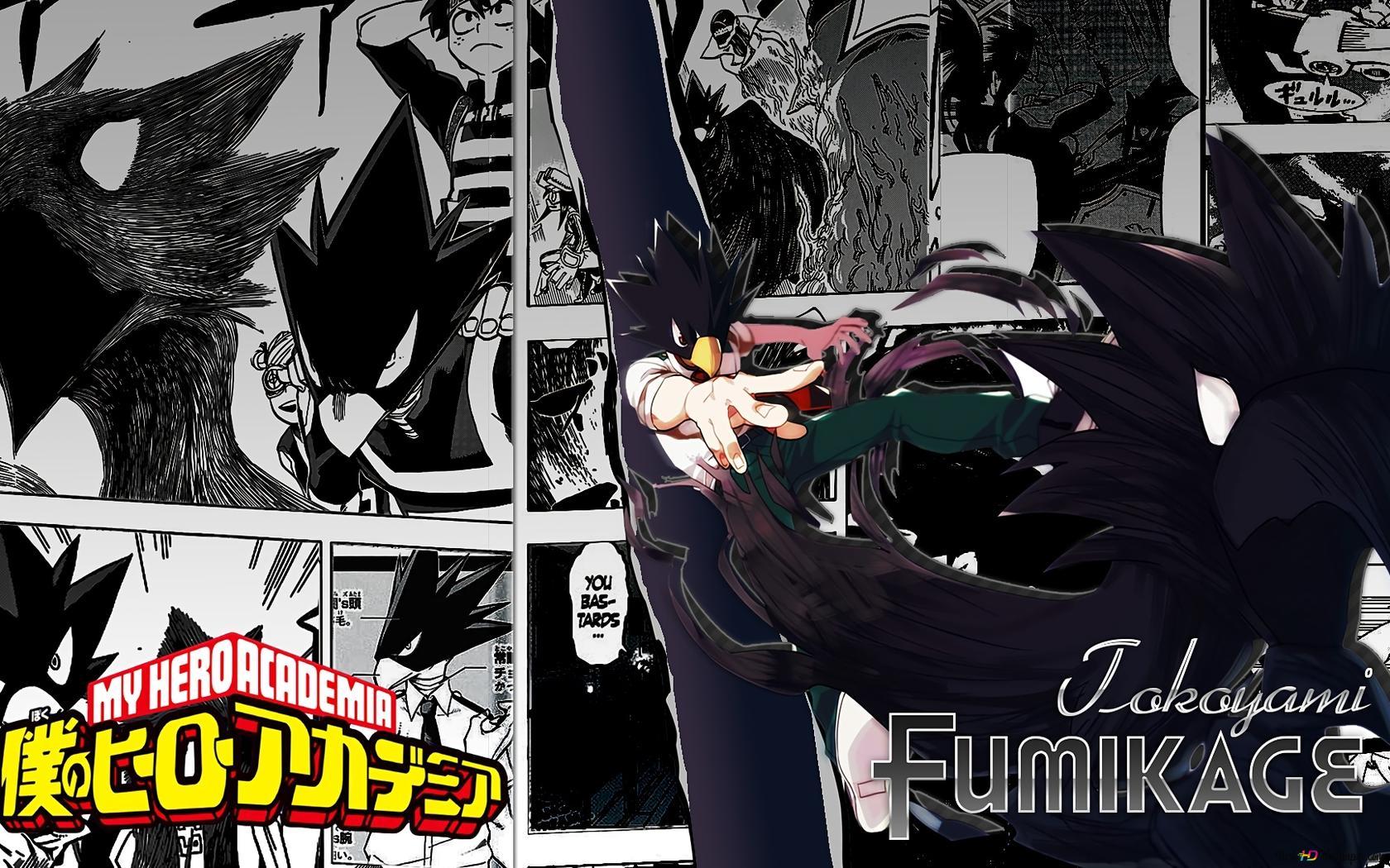 My Hero Academia Fumikage Tokoyami Hd Wallpaper Download