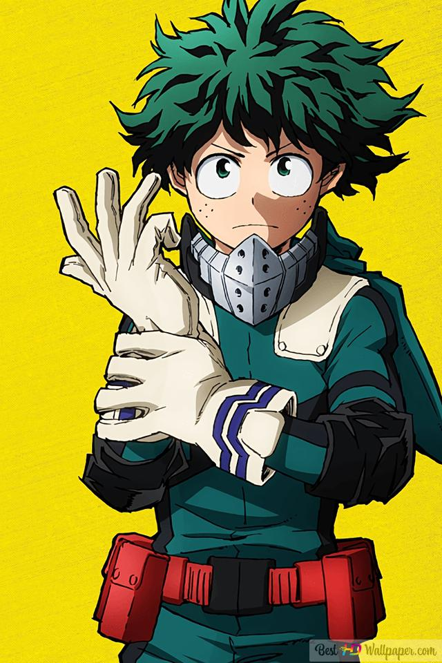 My Hero Academia - Izuku Midoriya,Deku HD wallpaper download
