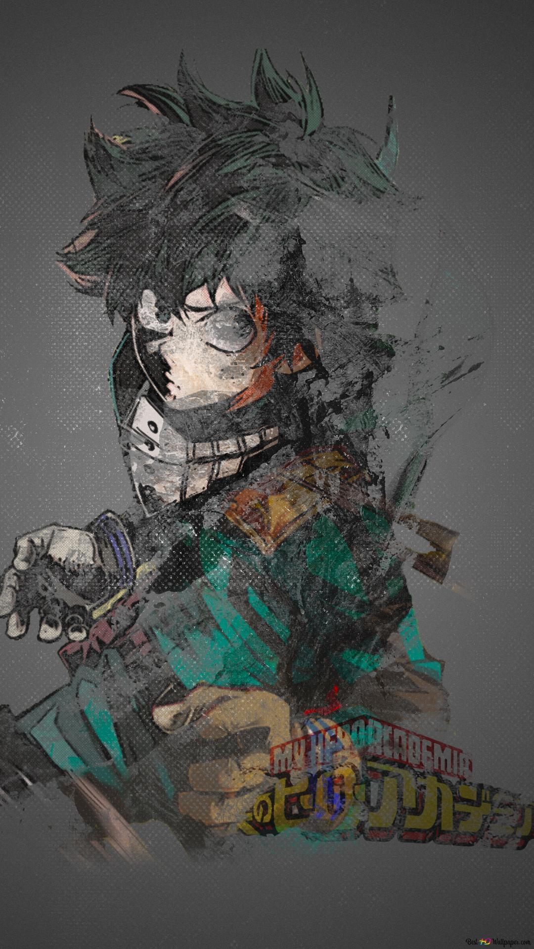 My Hero Academia Izuku Midoriya Von Boku Hd