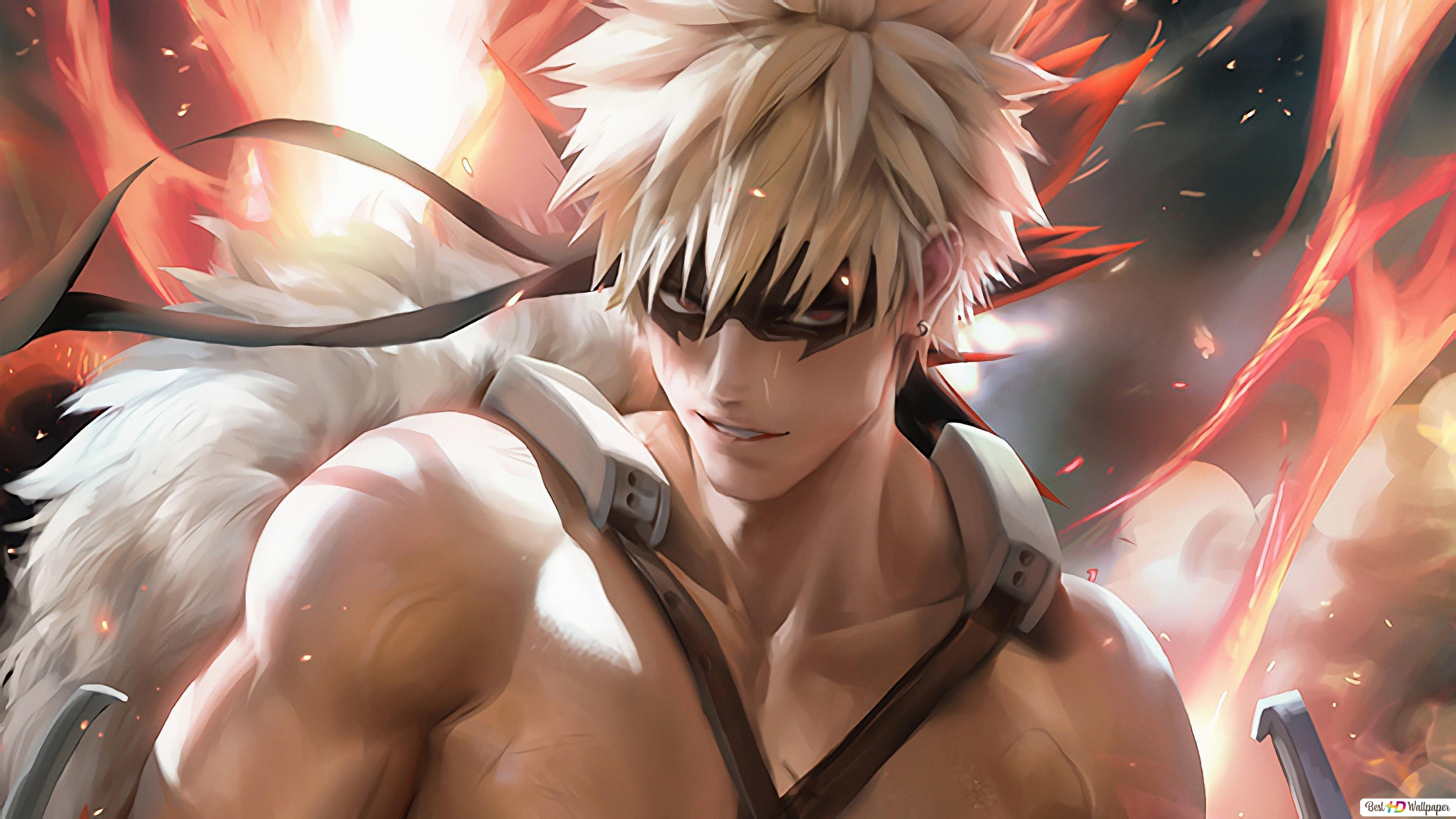 My Hero Academia Katsuki Bakugou Hd Wallpaper Download