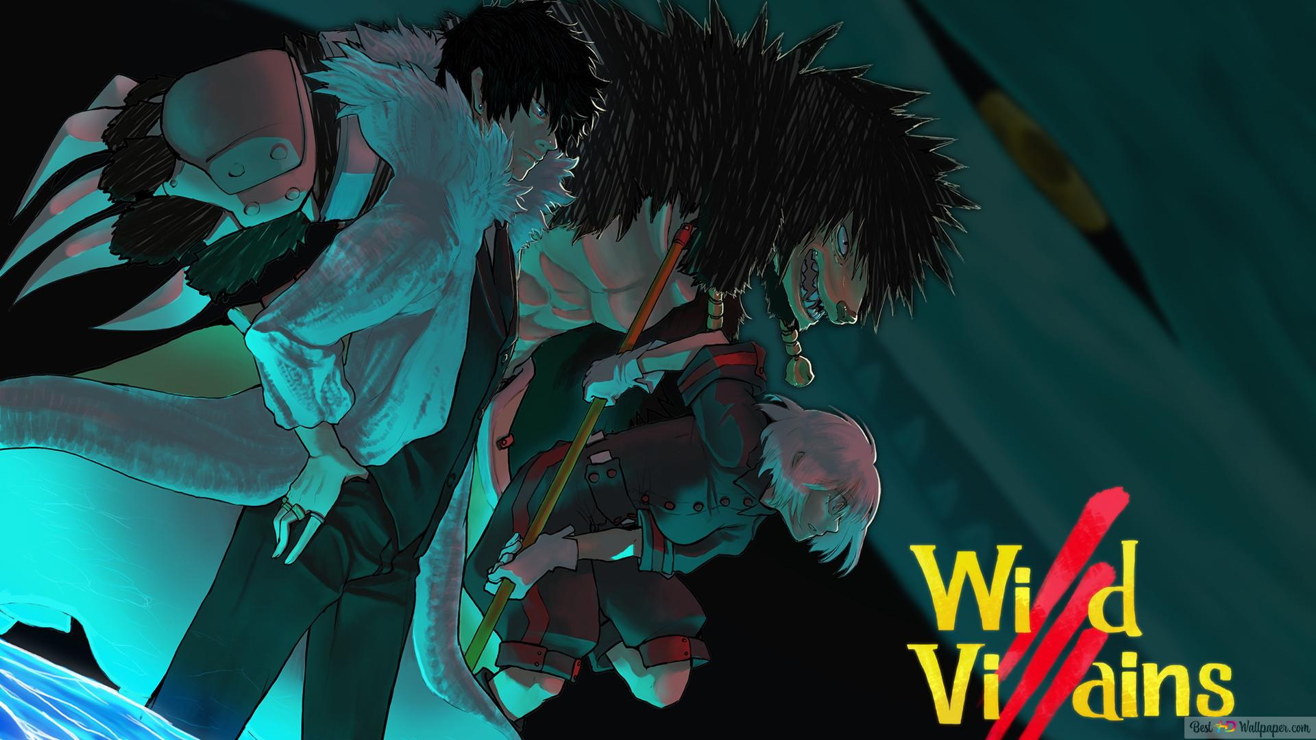 My Hero Academia League Of Villains Hd Wallpaper Download