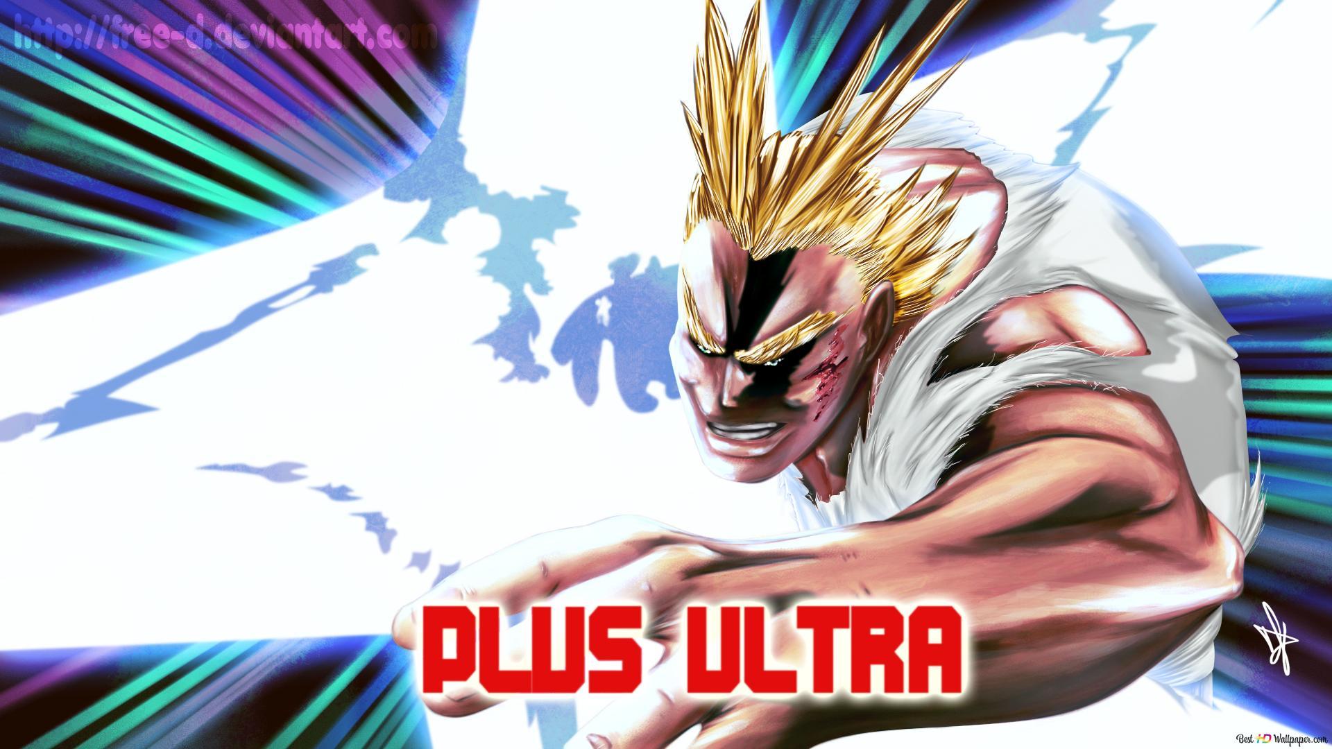 My Hero Academia Plus Ultra Hd Hintergrundbilder Herunterladen