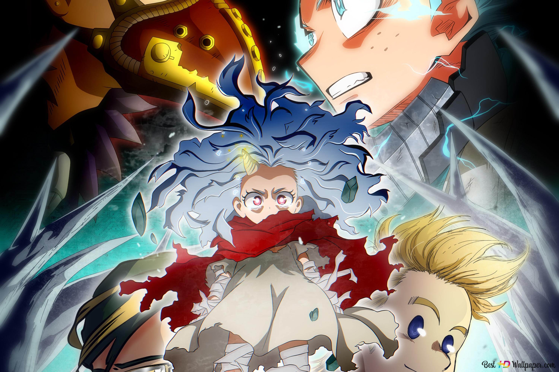 My Hero Academia Season 4 Cover Hd Wallpaper Download