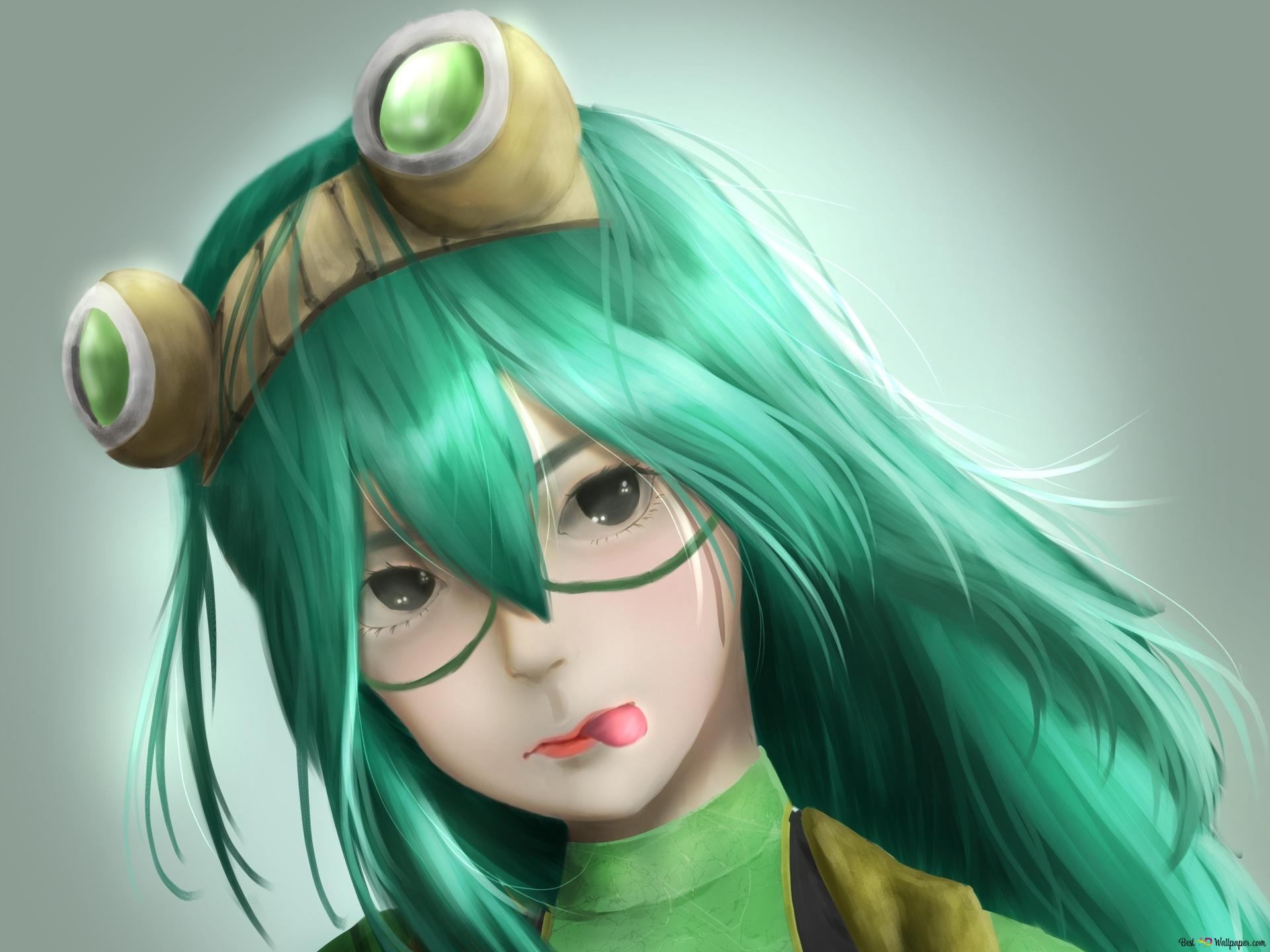My Hero Academia Tsuyu Asui Rainy Hd Wallpaper Download