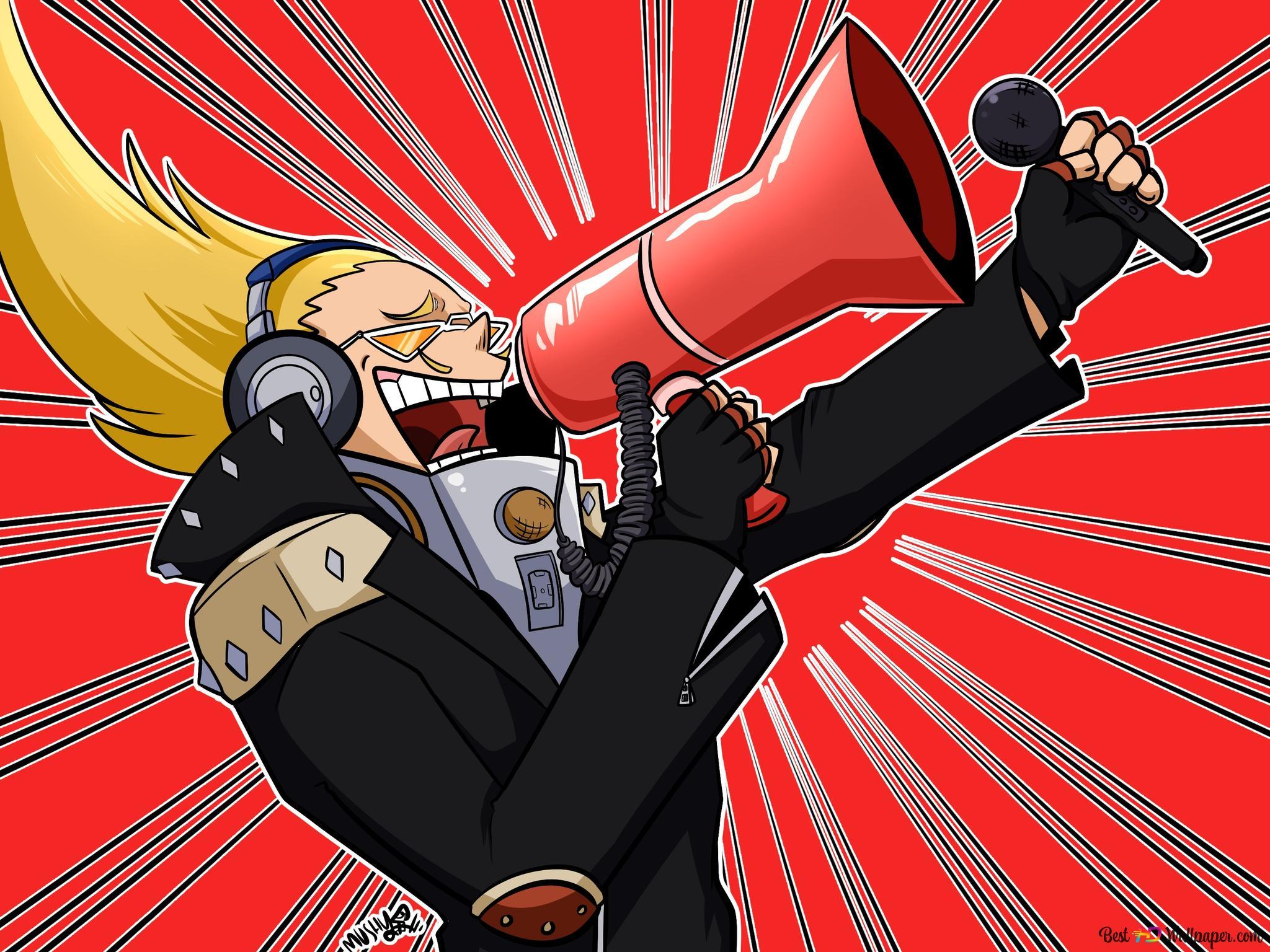 Watch My Hero Academia - Voice Hero: Present Mic HD wallpaper download