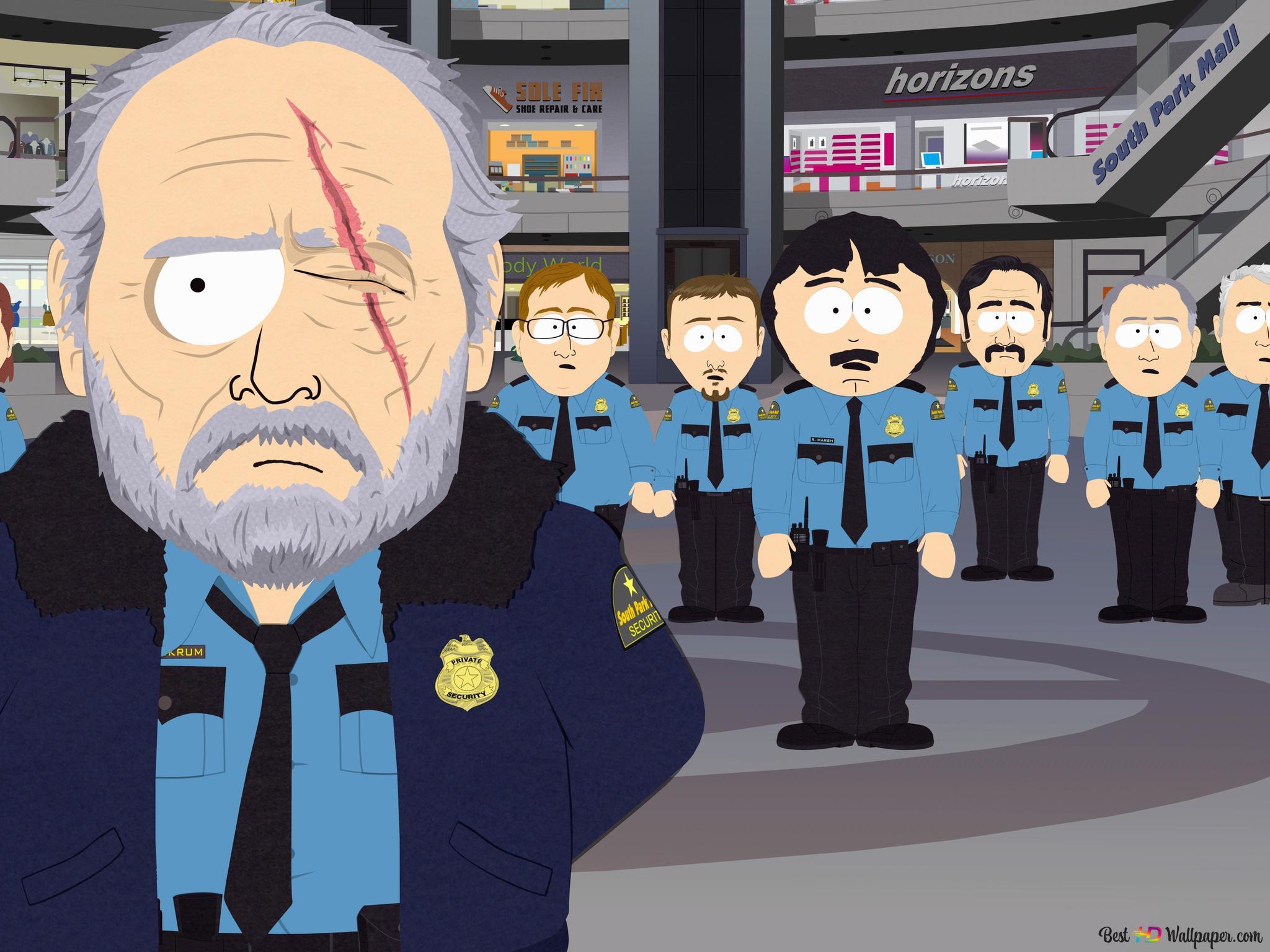 南园的警察高清壁纸下载
