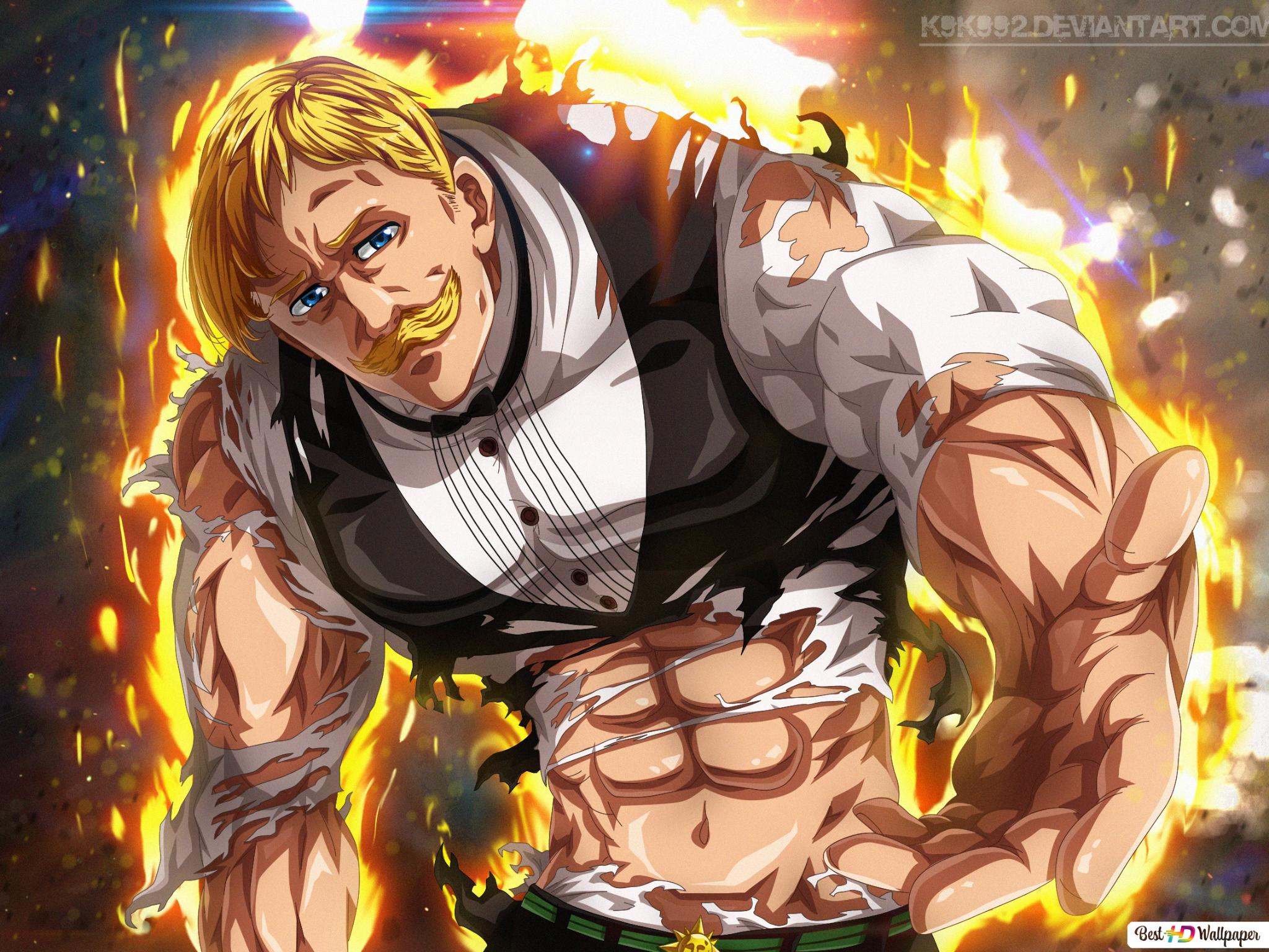Nanatsu No Taizai Escanor Hd Wallpaper Download