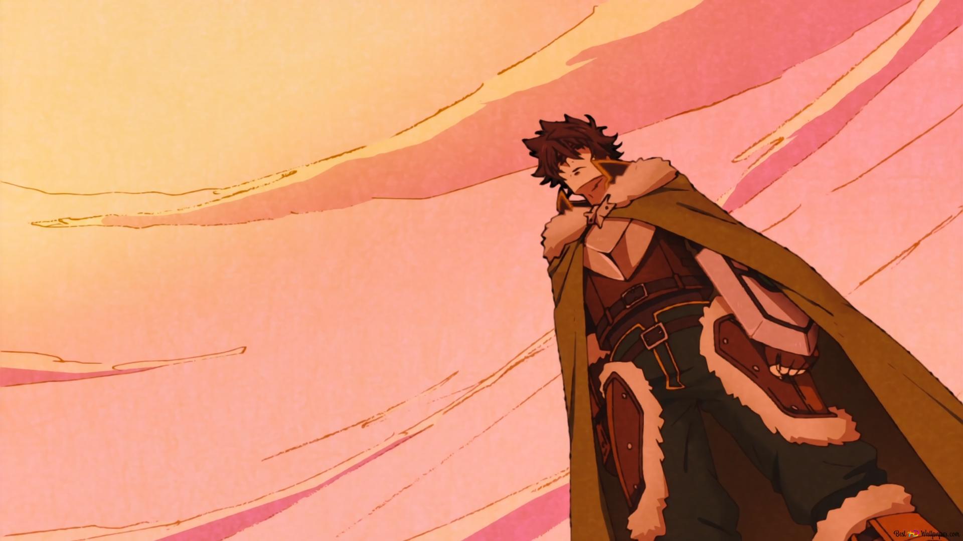 Naofumi Iwatani The Rising Of The Shield Hero Hd Wallpaper Download