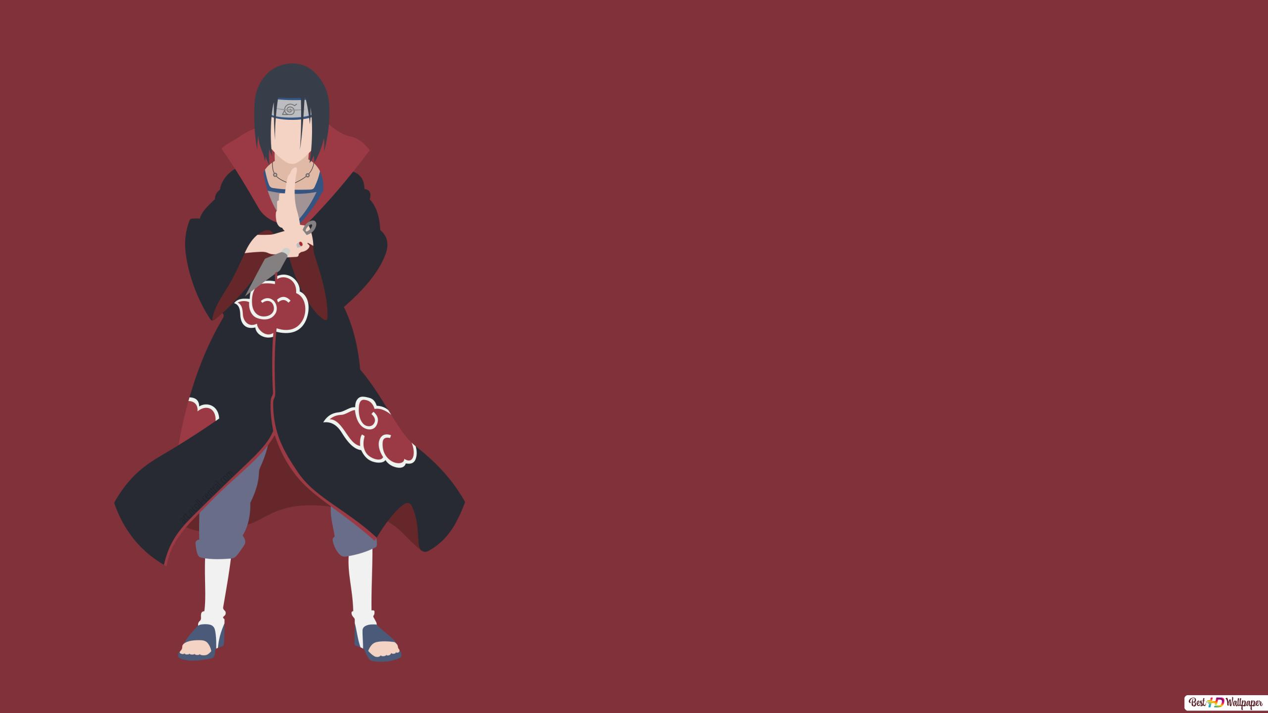 Naruto Itachi Uchiha Unduhan Wallpaper Hd