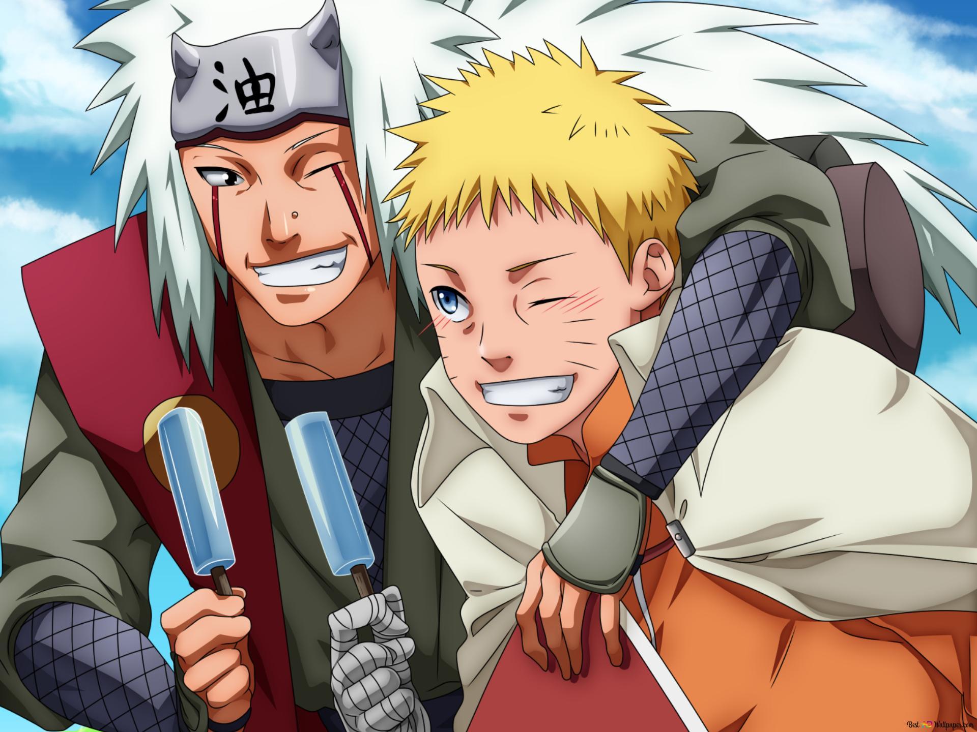 Jiraiya And Naruto Wallpaper Iphone