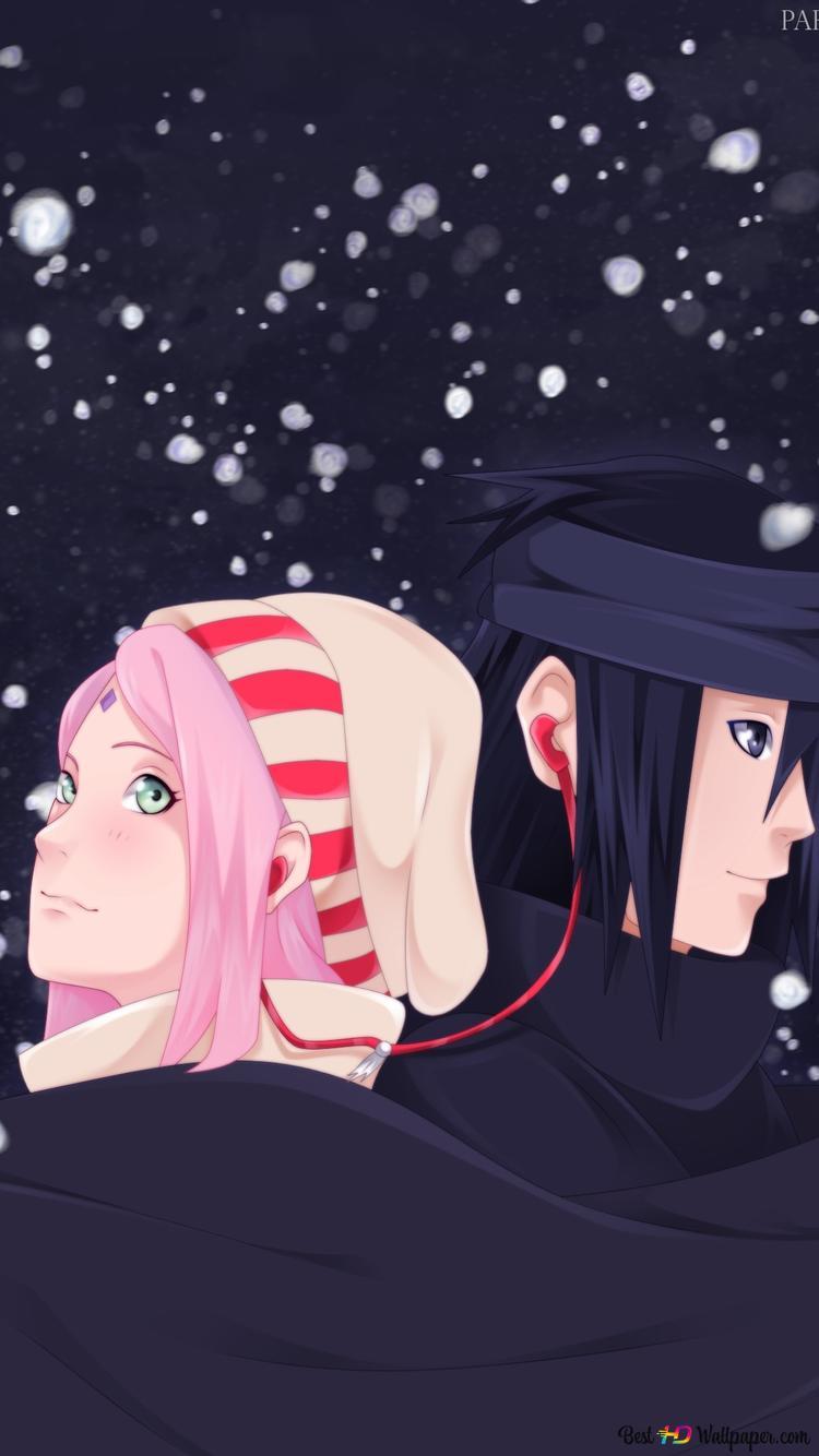 Naruto ナルト 疾風伝 春野サクラ サスケ Hd壁紙のダウンロード