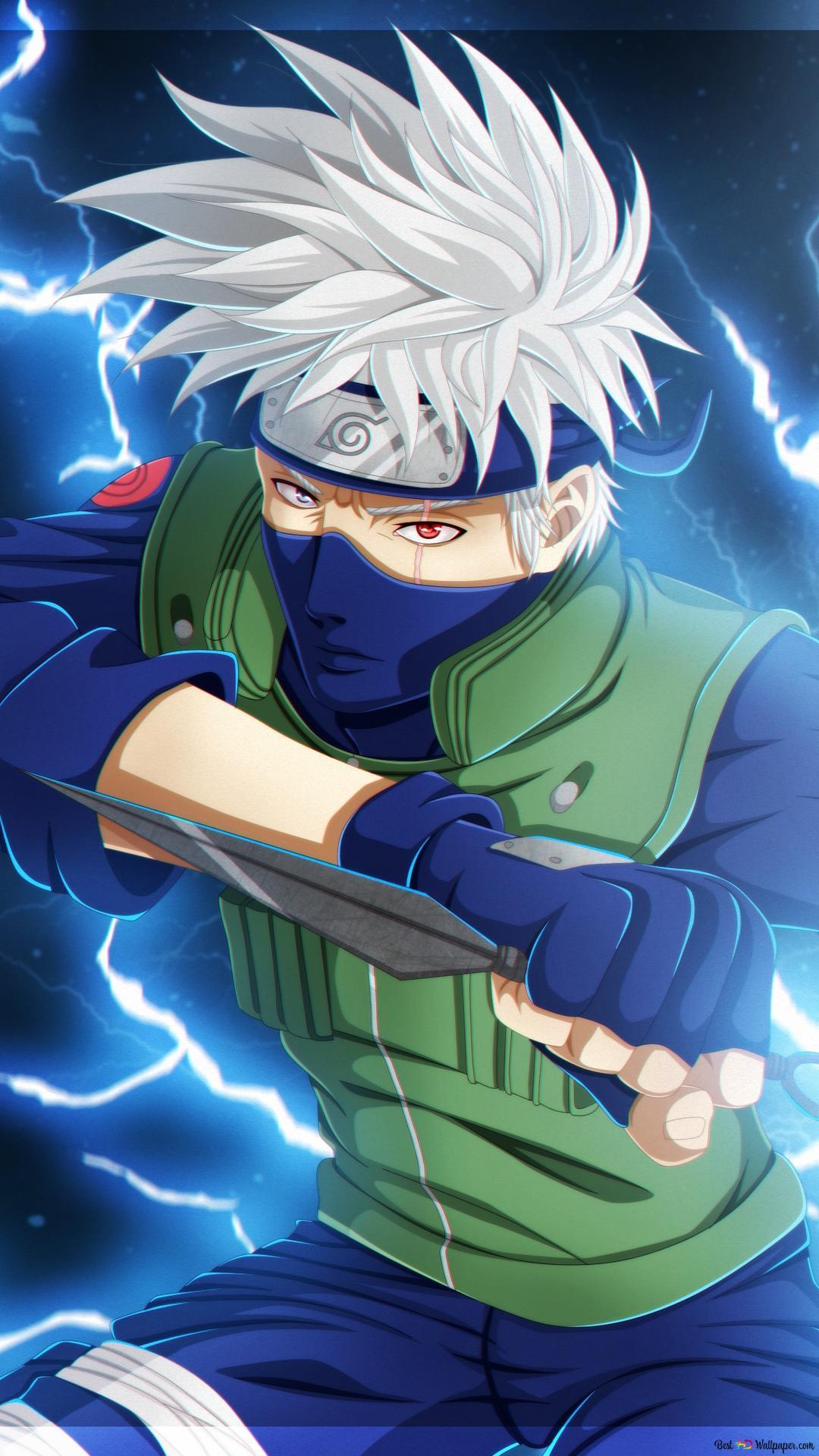 Naruto ナルト 疾風伝 はたけカカシ雷術 Hd壁紙のダウンロード
