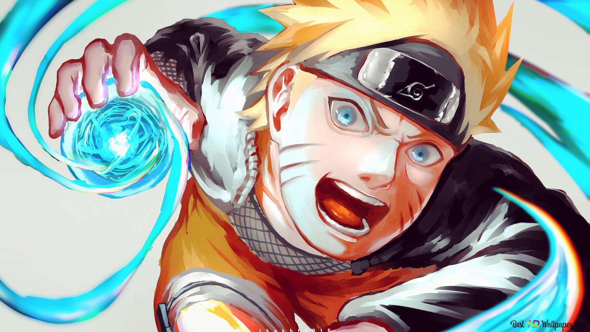 Naruto ナルト 疾風伝 うずまきナルト最終螺旋丸 Hd壁紙の