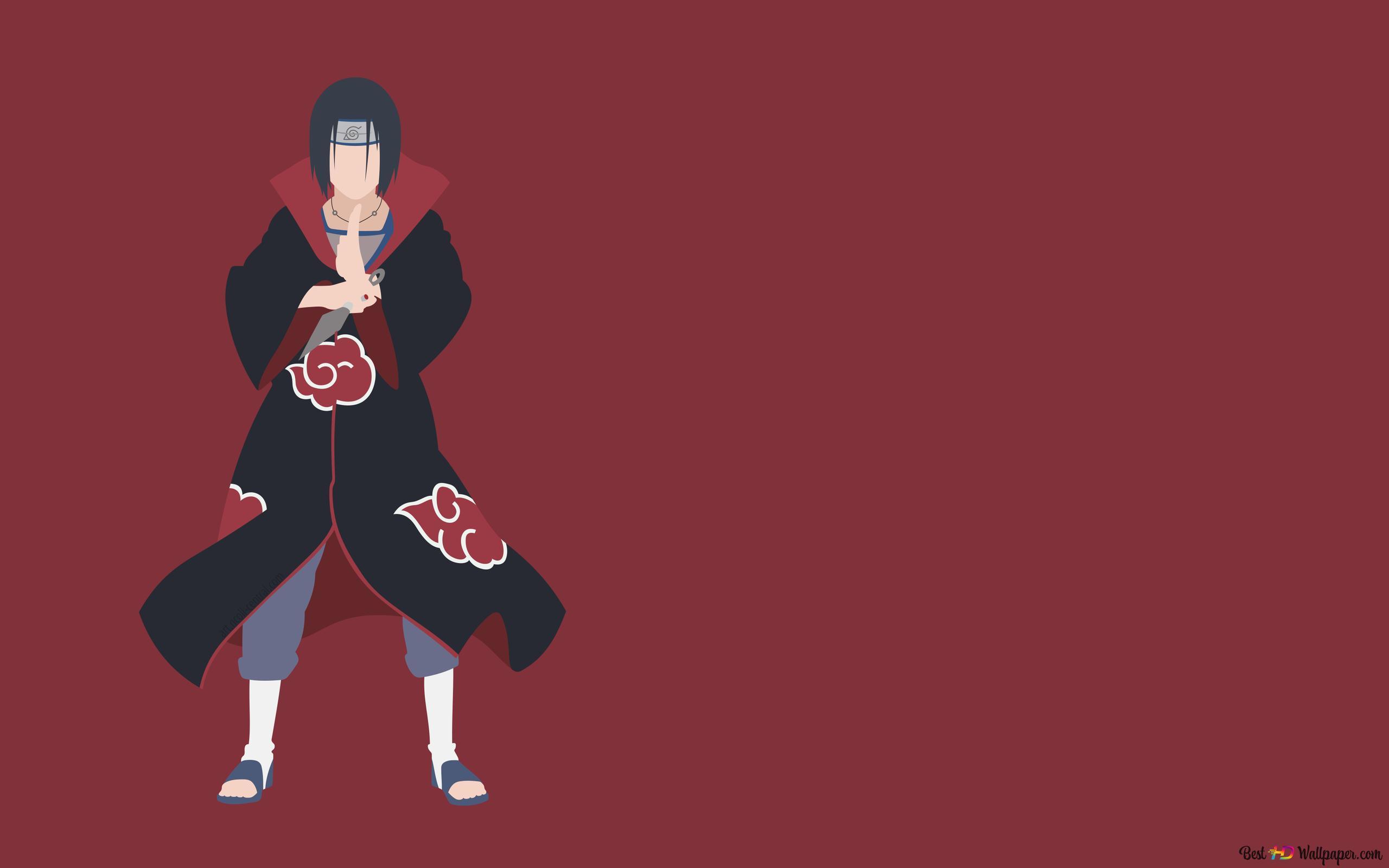 Naruto » s Itachi Uchiwa HD fond d'écran télécharger