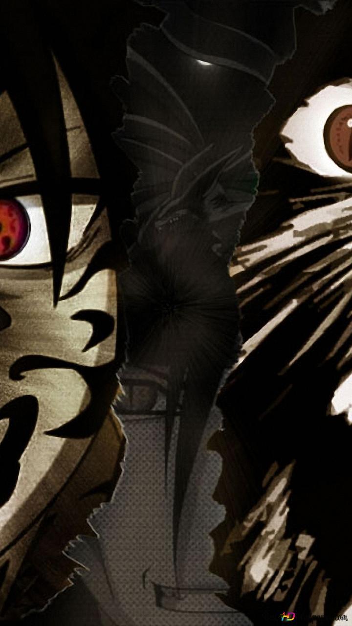 Naruto Sasuke Dan Naruto Unduhan Wallpaper Hd