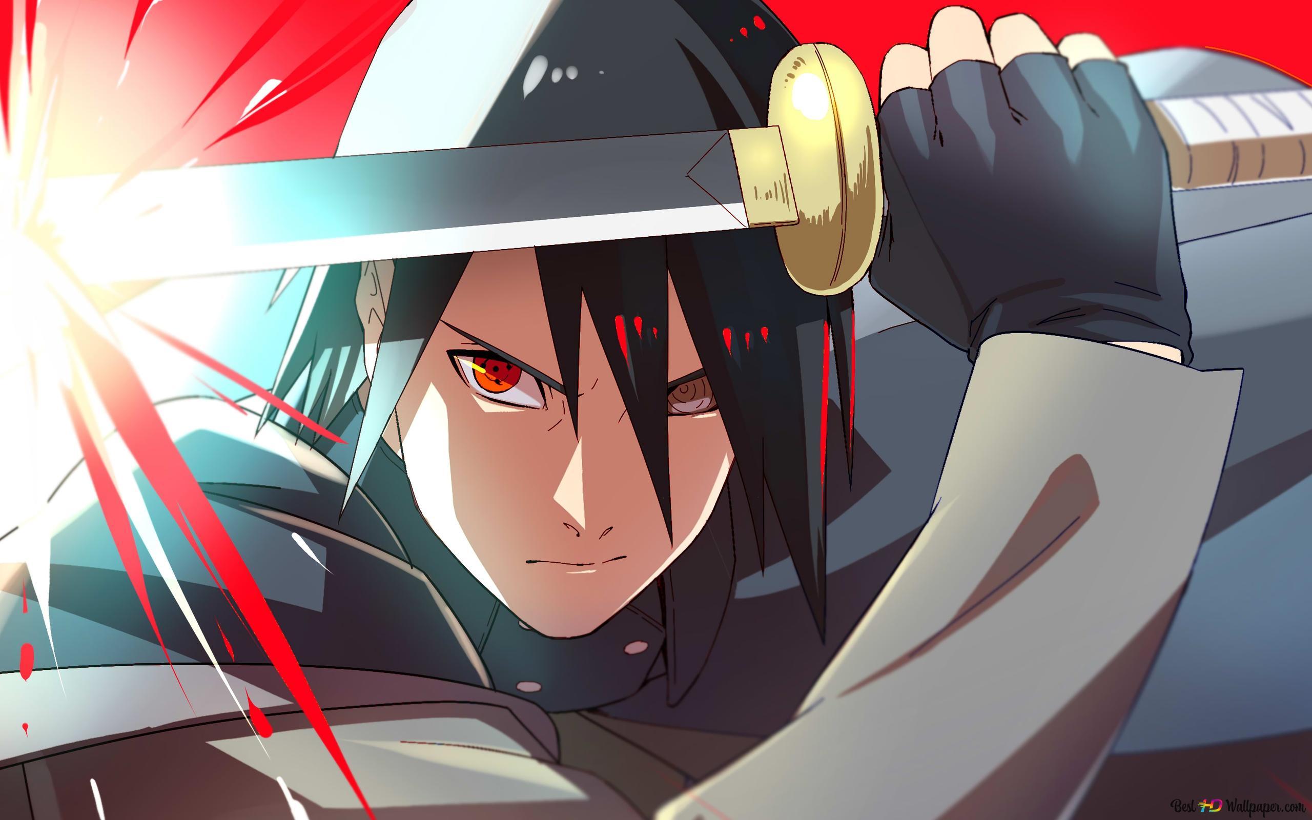 Naruto Sasuke Uchiha Hd Fond D Ecran Telecharger