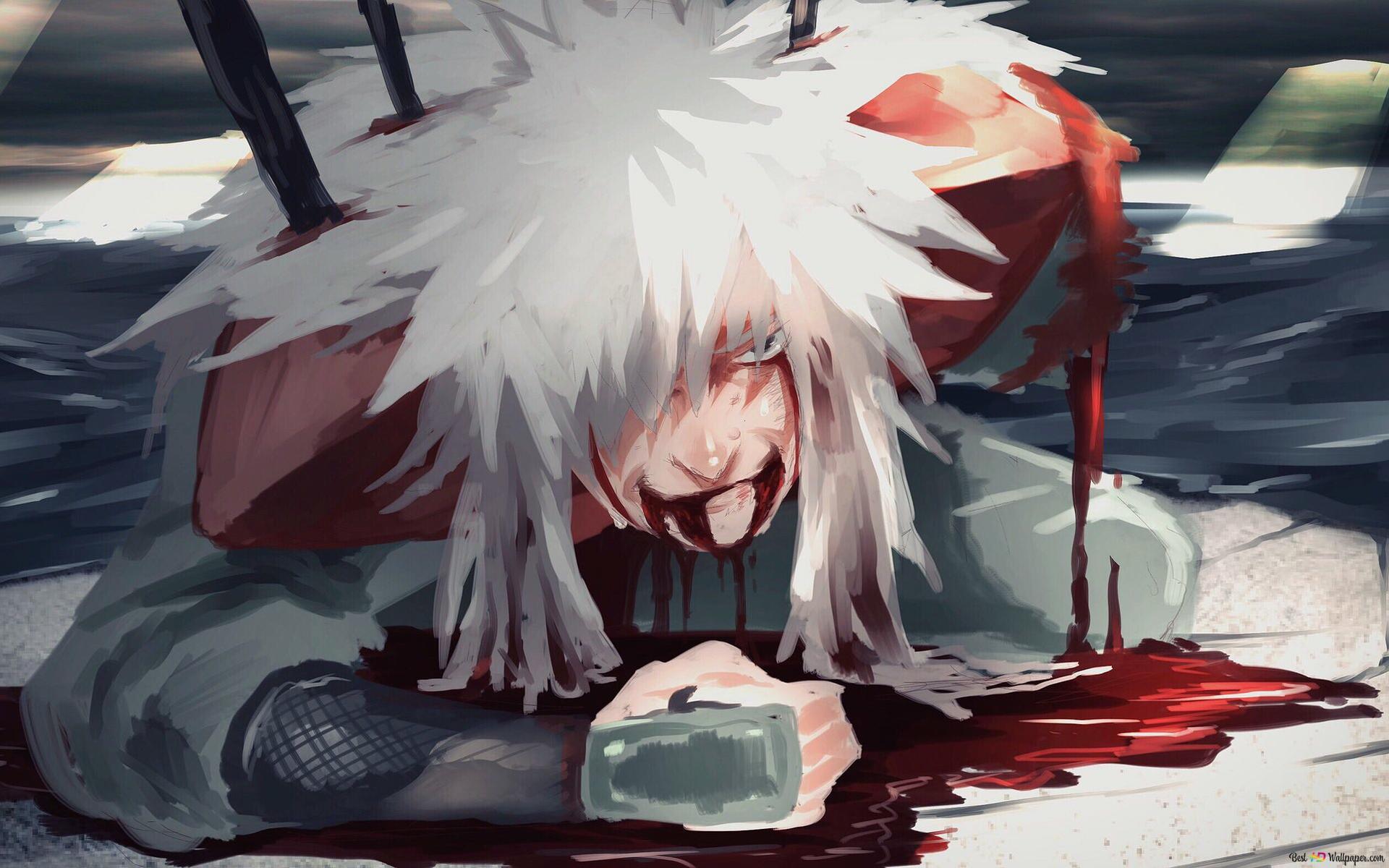 Descargar Fondo De Pantalla Naruto Shippuden Jiraiya Hd