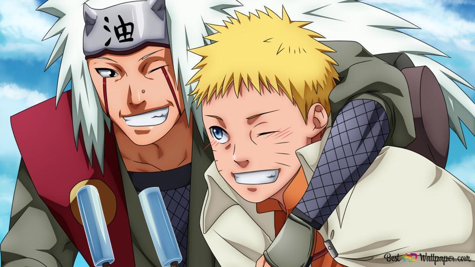 foto de Naruto Shippuden - Jiraya, Naruto Uzumaki HD fond d'écran télécharger