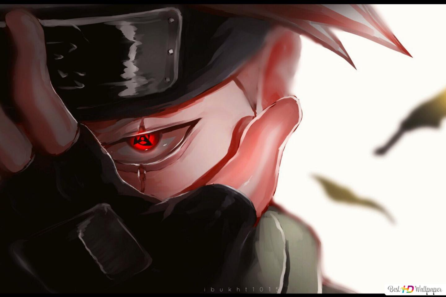 Naruto Shippuden Kakashi Of The Sharingan HD Wallpaper