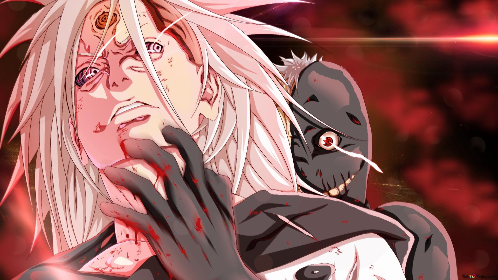 Naruto Shippuden Madara Uchiha Black Zetsu Unduhan Wallpaper Hd