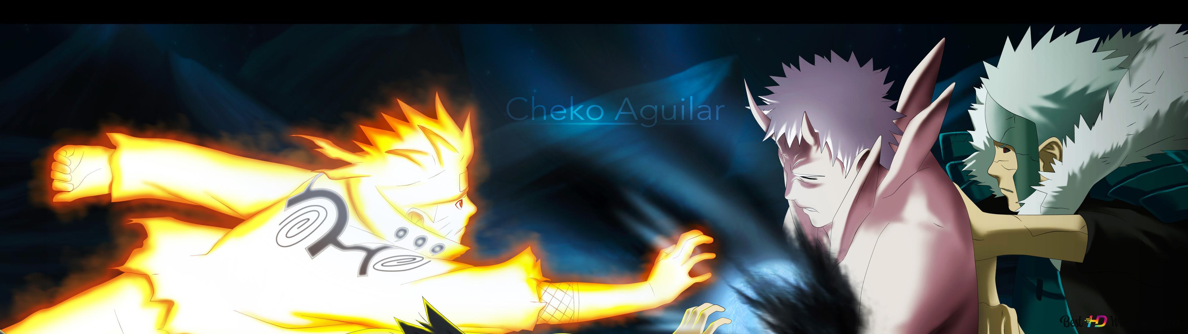 Naruto Shippuden Naruto Uzumaki Sasuke Uchiha Obito