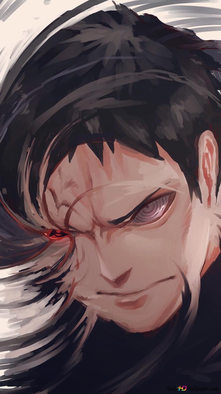 Naruto Shippuden Obito Uchiha Sharingan Kamui Hd