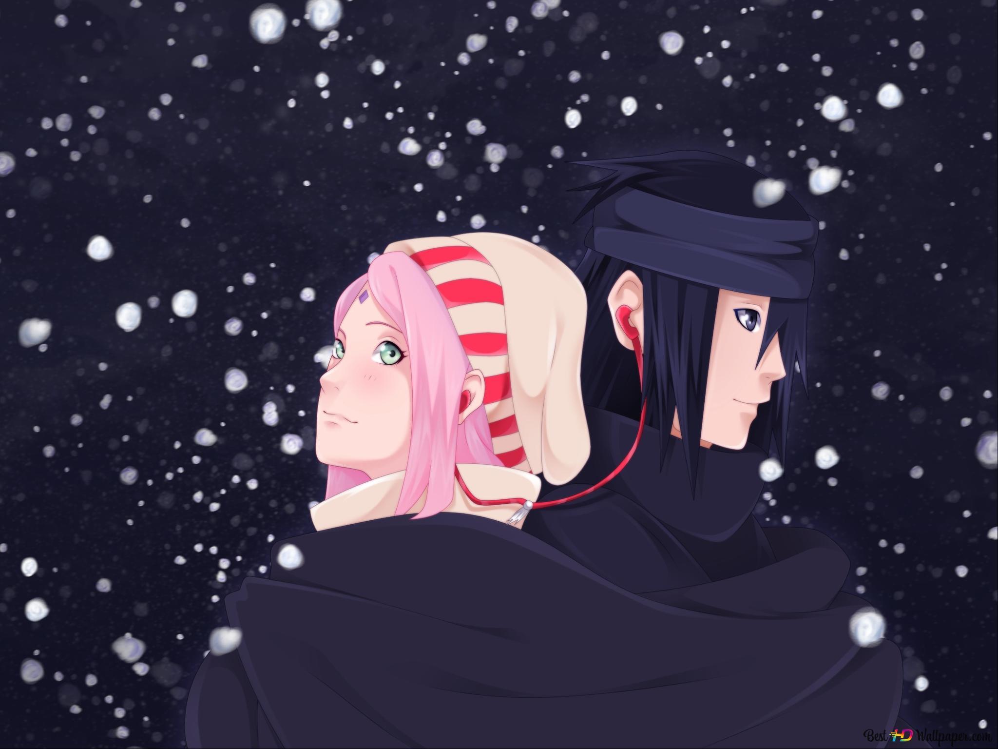 Naruto Shippuden - Sakura Haruno & Sasuke Uchiha HD