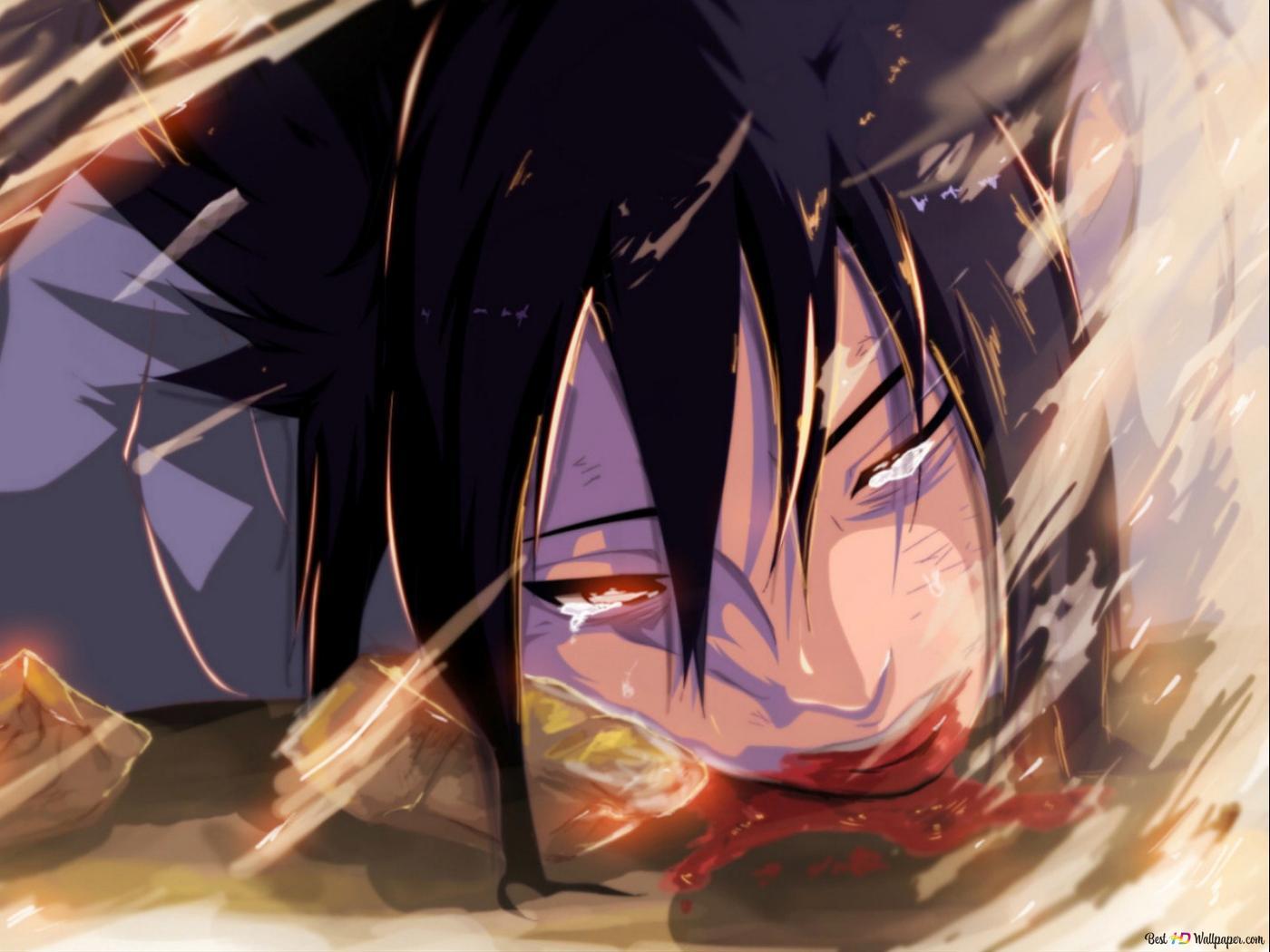 Naruto Shippuden - Sasuke Uchiha, Tot HD Hintergrundbilder herunterladen