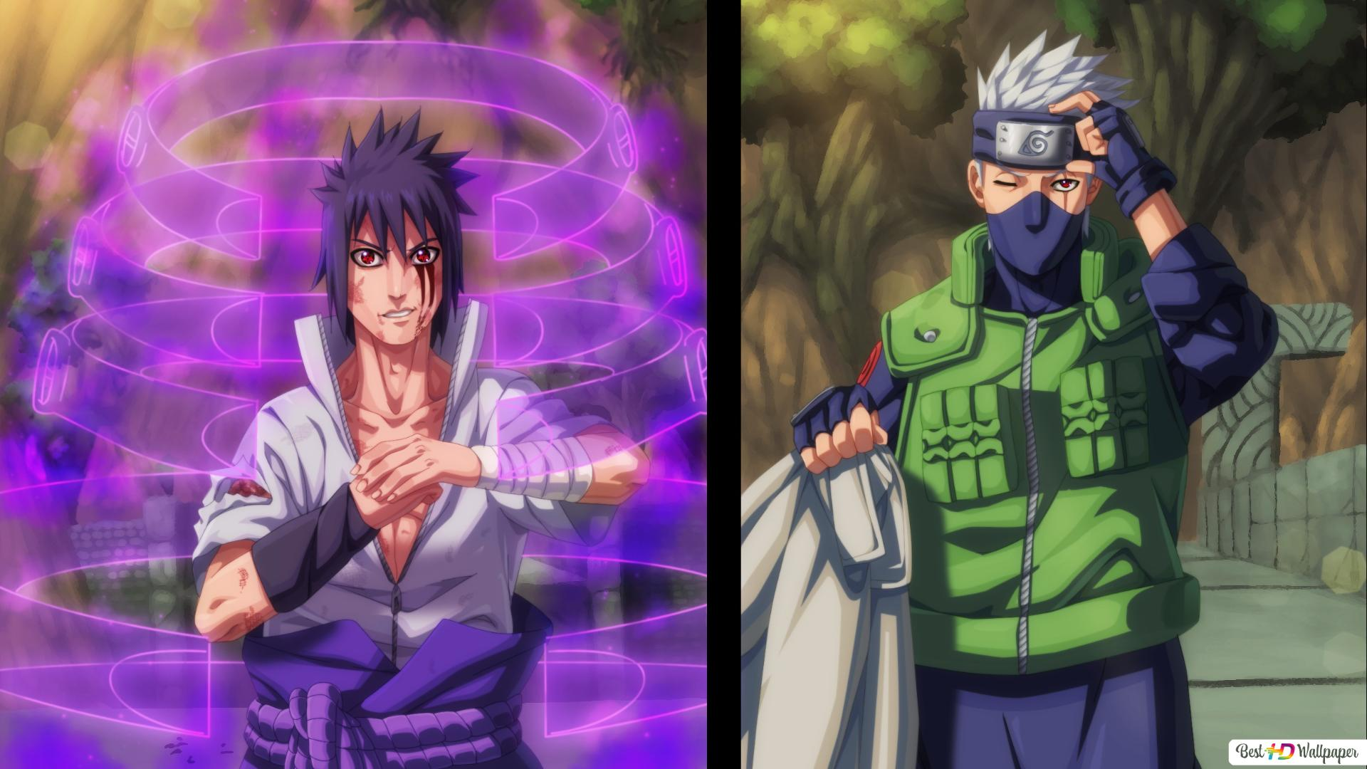 Naruto Shippuden Sasuke Vs Kakashi Hd Wallpaper Download