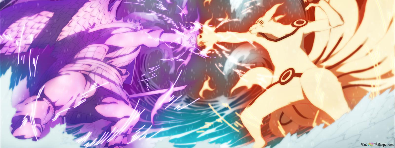 Naruto Shippuden Susanoo Kurama Sasuke Uchiha Naruto Uzumaki Hd