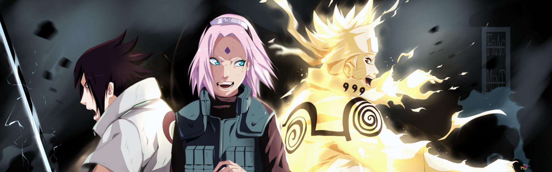 Naruto Shippuden Team 7 Leaf Shinobi Hd Wallpaper Download