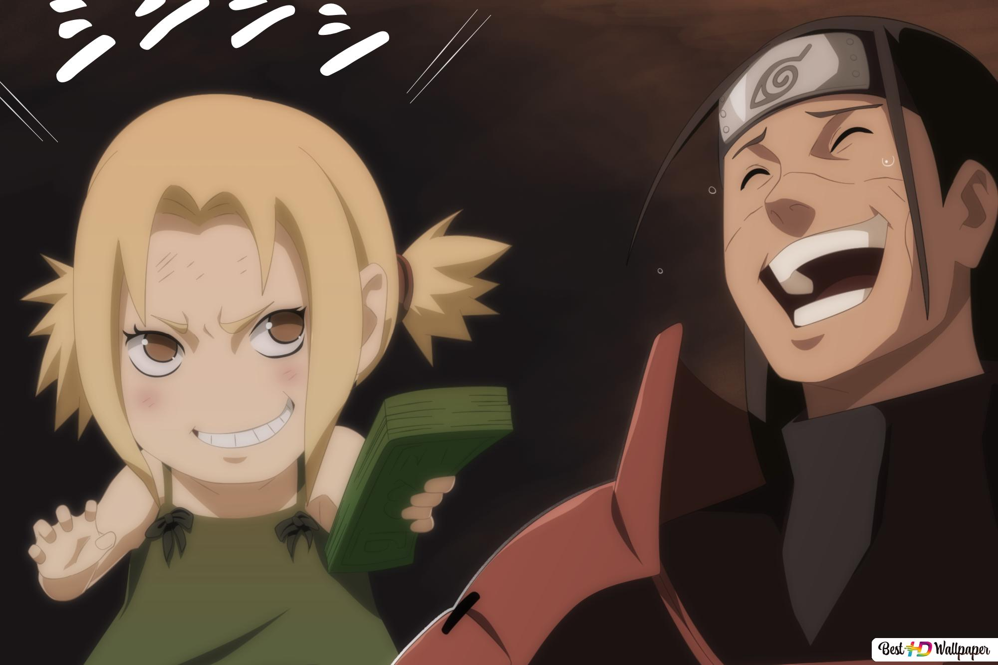 Naruto Shippuden Tsunade Hashirama Senju Hd Wallpaper Download