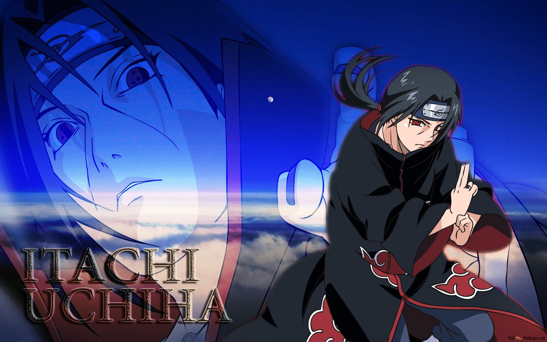 Naruto Shippuden Uchiha Itachi Hd Hintergrundbilder