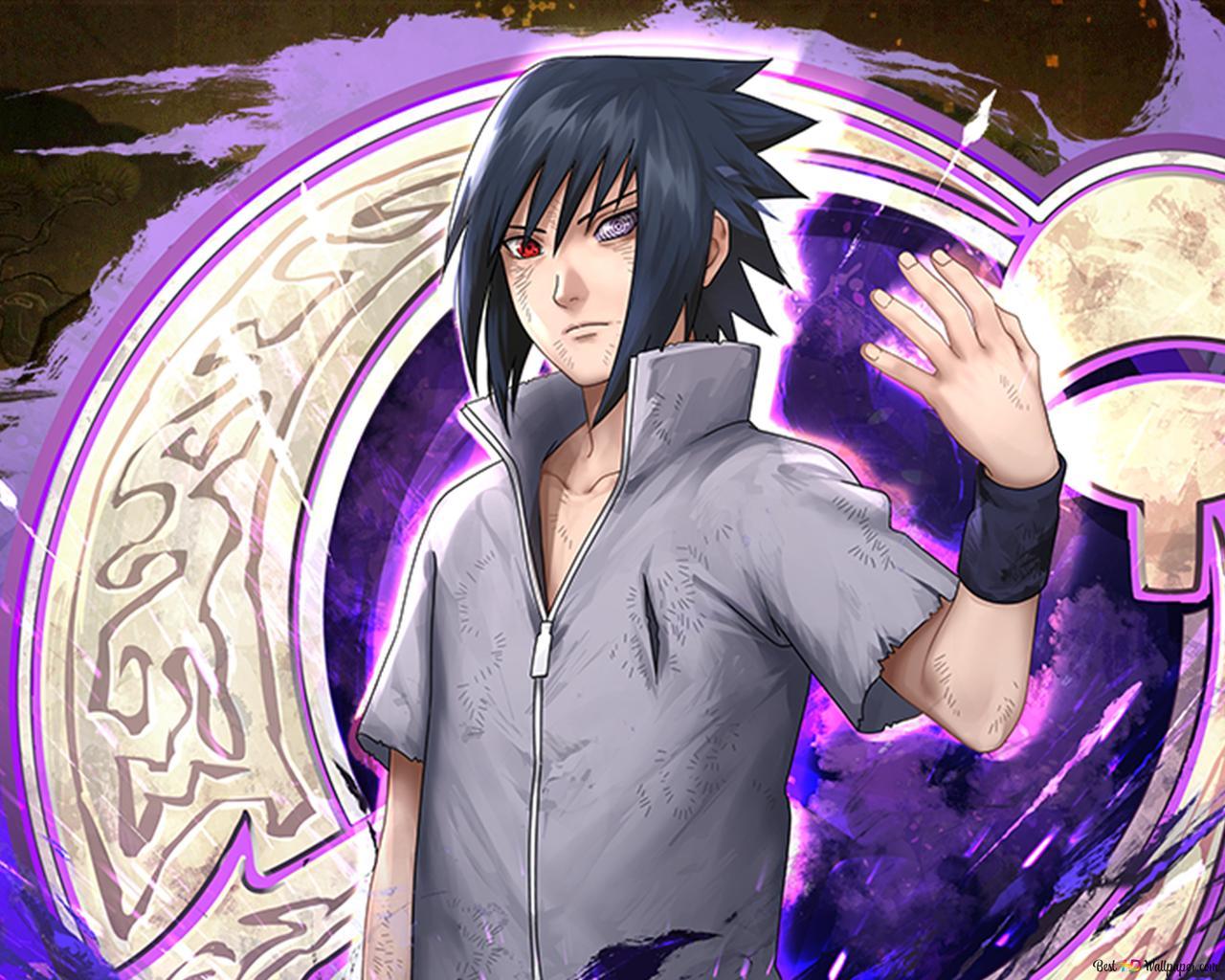 Naruto Shippuden的sasuke Uchiha Rinnegan来自台式机高清壁纸下载