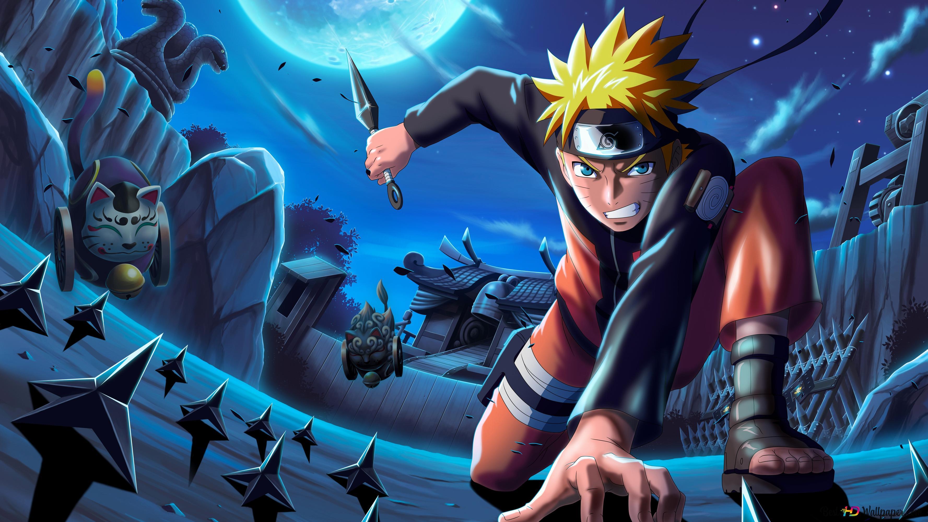 Naruto Uzumaki 4k HD fond d'écran télécharger