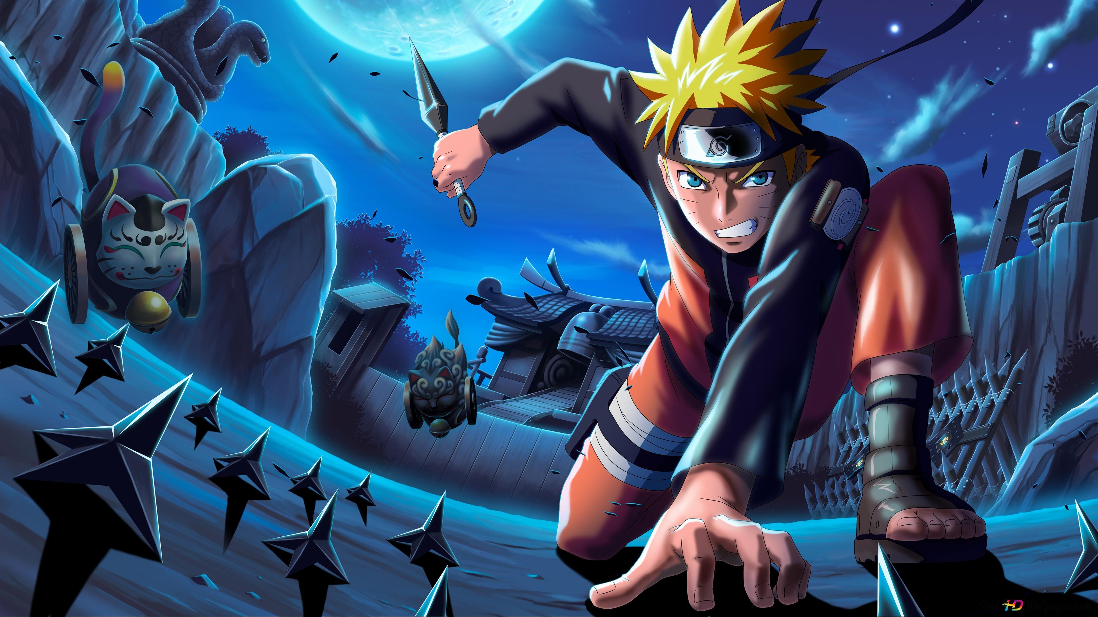 Naruto Uzumaki 4k Hd Hintergrundbilder Herunterladen