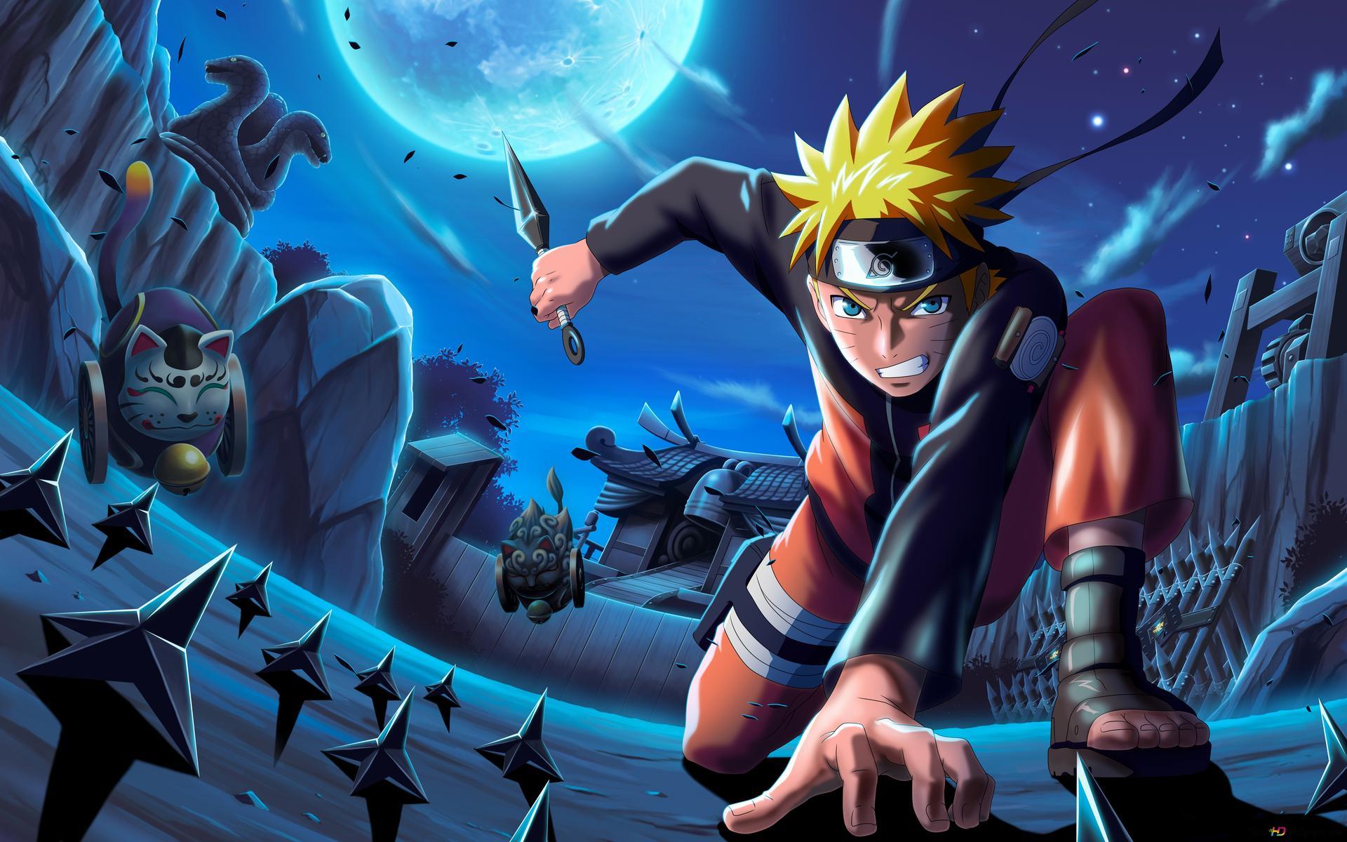 Naruto Uzumaki 4k Hd Wallpaper Download