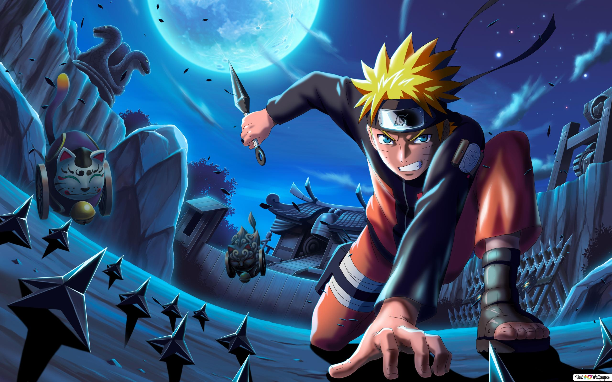 Naruto Uzumaki 4k Hd Wallpaper Download