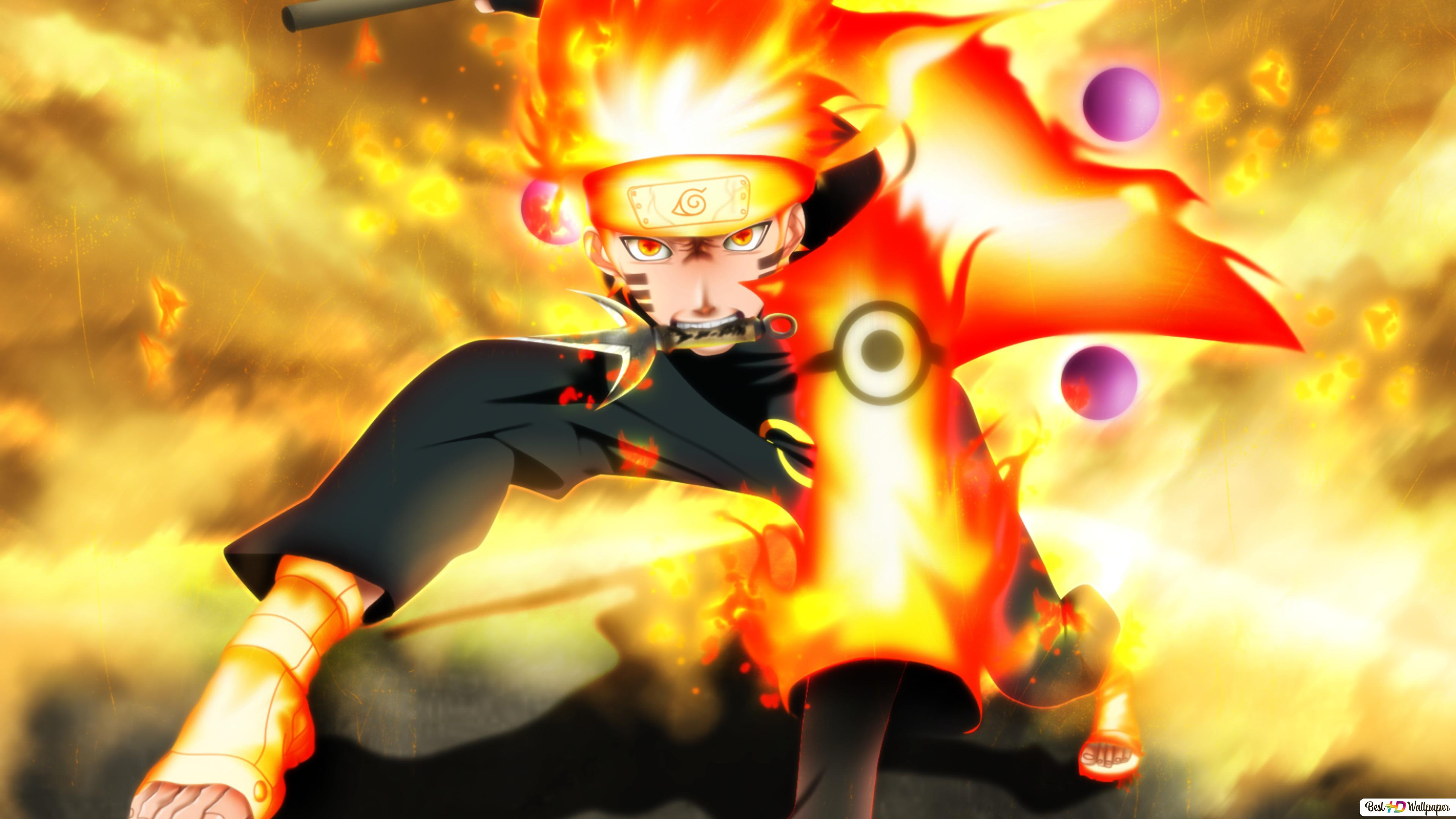 Naruto Uzumaki Sage Mode Hd Wallpaper Download