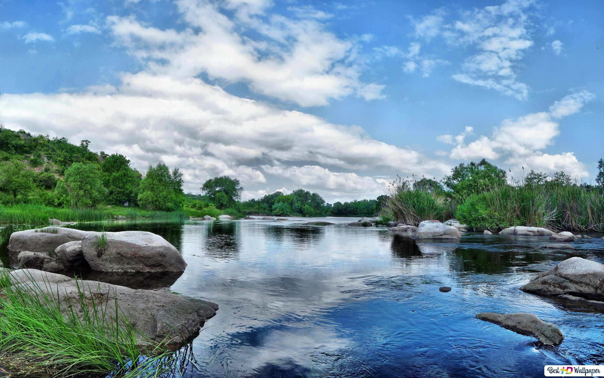 Nature Water Reflection Hd Wallpaper Download