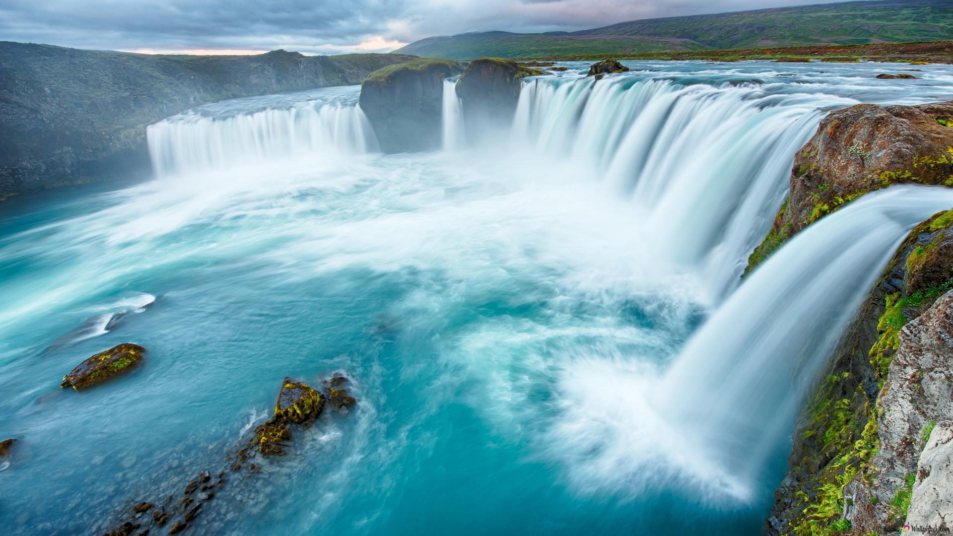 Nature Waterfalls Hd Wallpaper Download