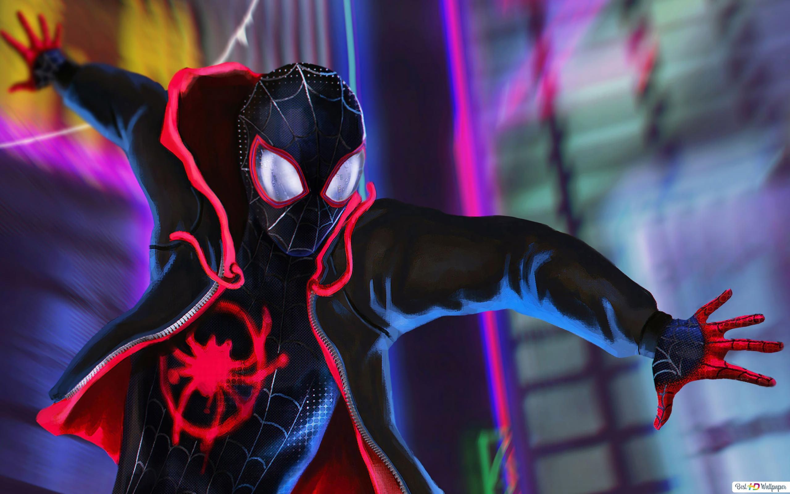 Spiderman Wallpaper Fondo Negro
