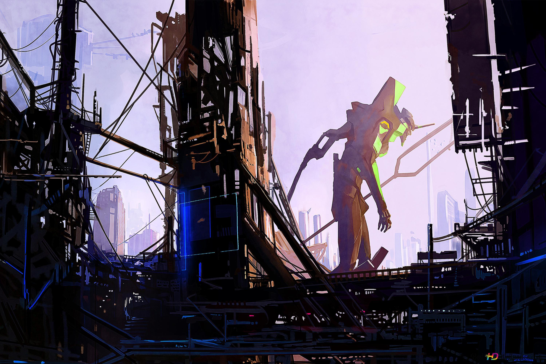 Neon Genesis Evangelion Eva Unit HD Wallpaper Download
