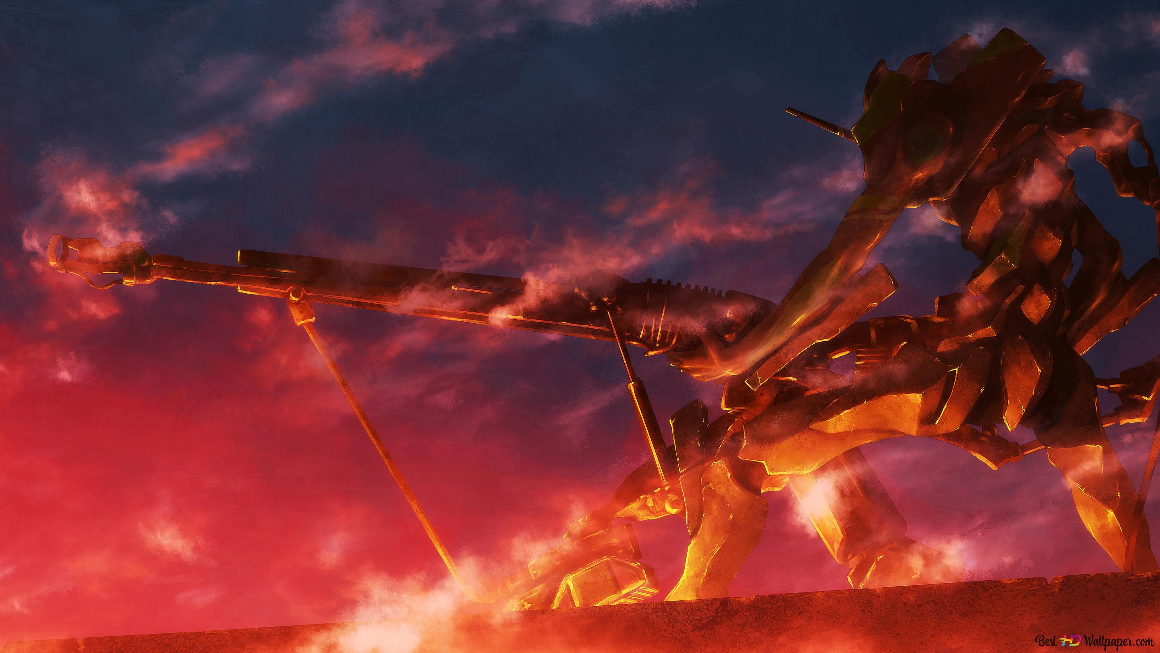 Neon Genesis Evangelion Hd Wallpaper Download