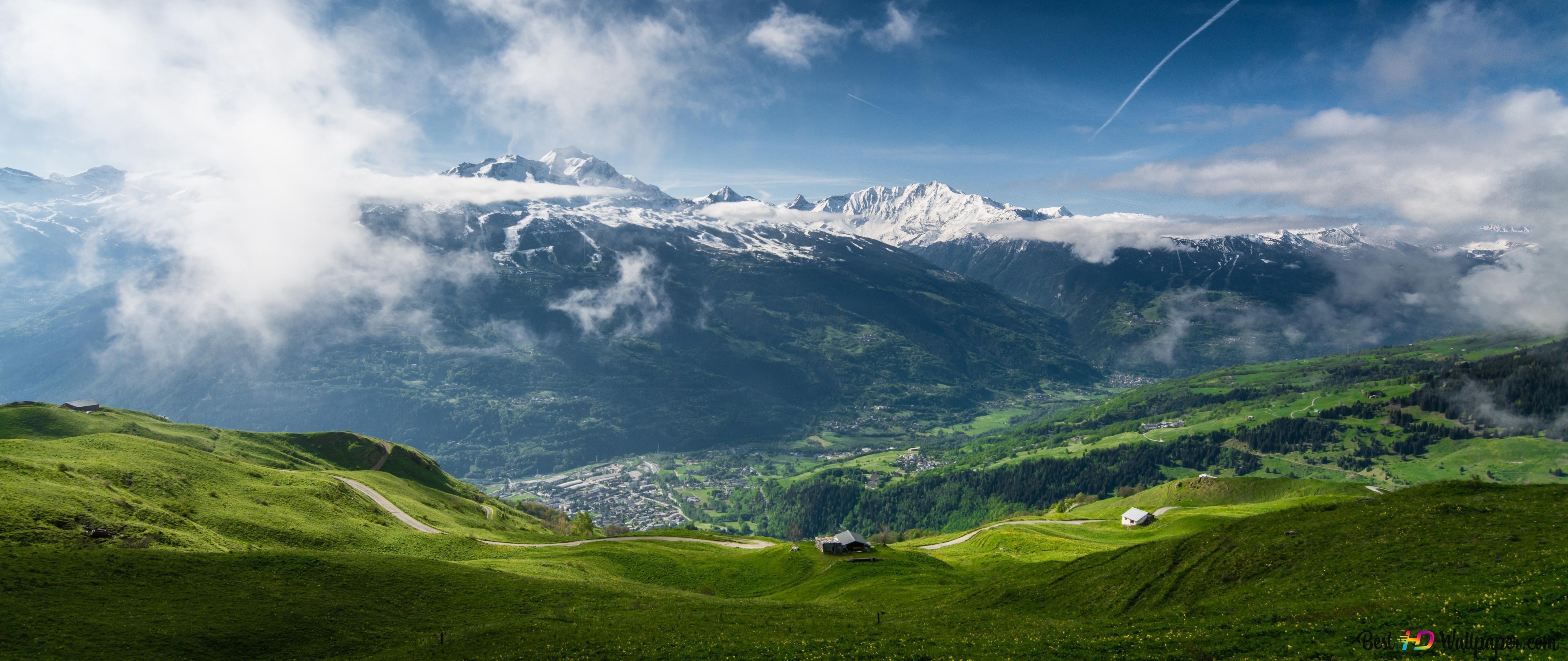 Neve In Montagna Download Di Sfondi Hd